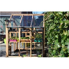 Juliana houten tuinkas New Classic 66 incl. fundering