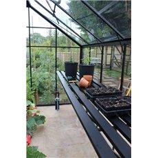 Eden kweektafel Burford 106 & Blockley 108, geïntegreerd - zwart
