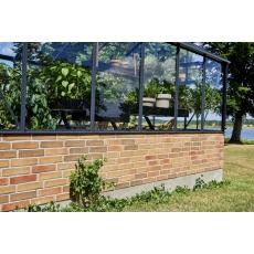 Juliana Premium 130 Wall, antracietgrijs - veiligheidsglas