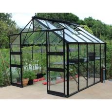 Eden tuinkas Blockley 108, zwart gecoat