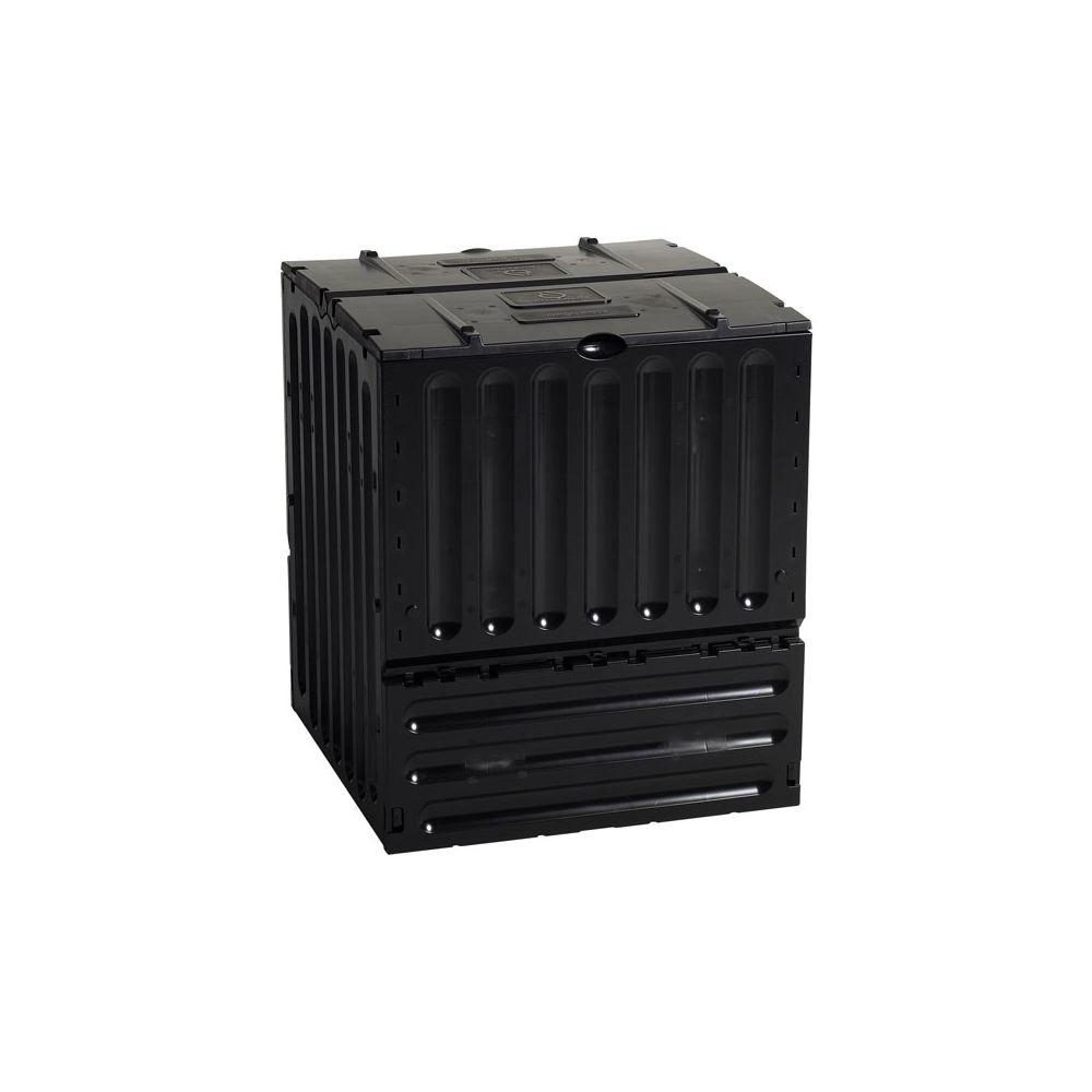 Practo Garden tuincomposter Eco-King 400L zwart