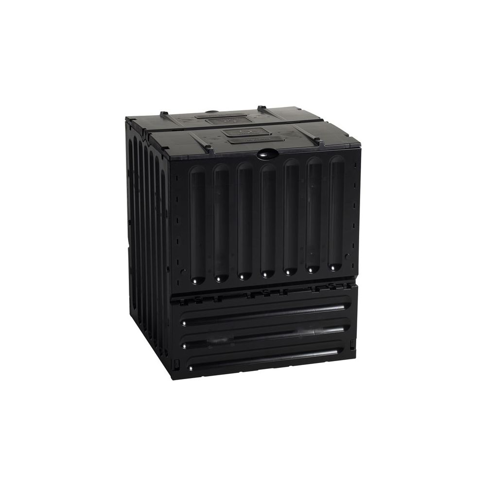 Practo Garden tuincomposter Eco-King 600L zwart