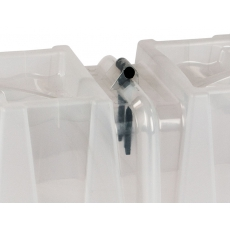 Mini-tunnelkas 30x40x105cm transparant