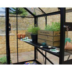 Eden kweektafel Blockley, 148 geïntegreerd - zwart