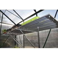 Slim kweken kweaktafel Alu Grower 62,5x200 cm