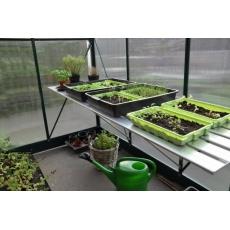 Slim kweken kweaktafel Alu Grower 62,5x200 cm