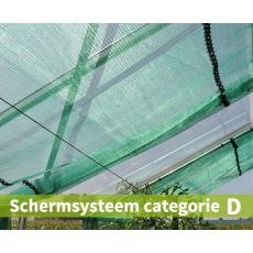 Schermsysteem categorie D